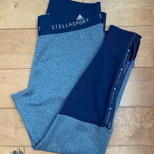 StellaSport and Adidas two tone leggings